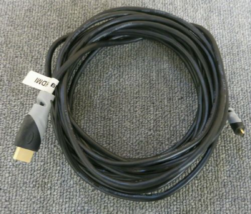 Generic Black 4.6M 15FT High Speed HDMI Cable With Ethernet